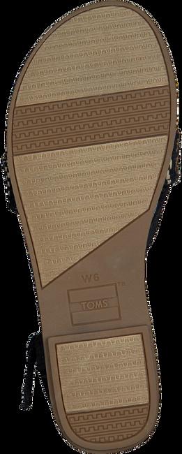 Schwarze TOMS Sandalen LEXIE 10013303  - large