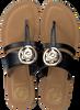 Schwarze GUESS Pantolette GENERA  - small