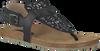 Schwarze CLIC! Sandalen CV8971 - small