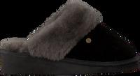 Schwarze WARMBAT Hausschuhe ALICE  - medium