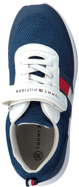 Blaue TOMMY HILFIGER Sneaker LOW CUT LACE UP/VELCRO  - large