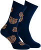 Blaue MARCMARCS Socken DIMITRI  - small