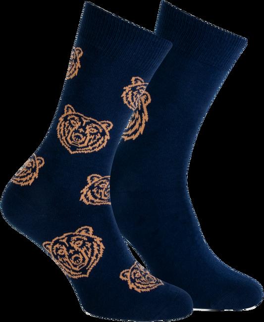 Blaue MARCMARCS Socken DIMITRI  - large
