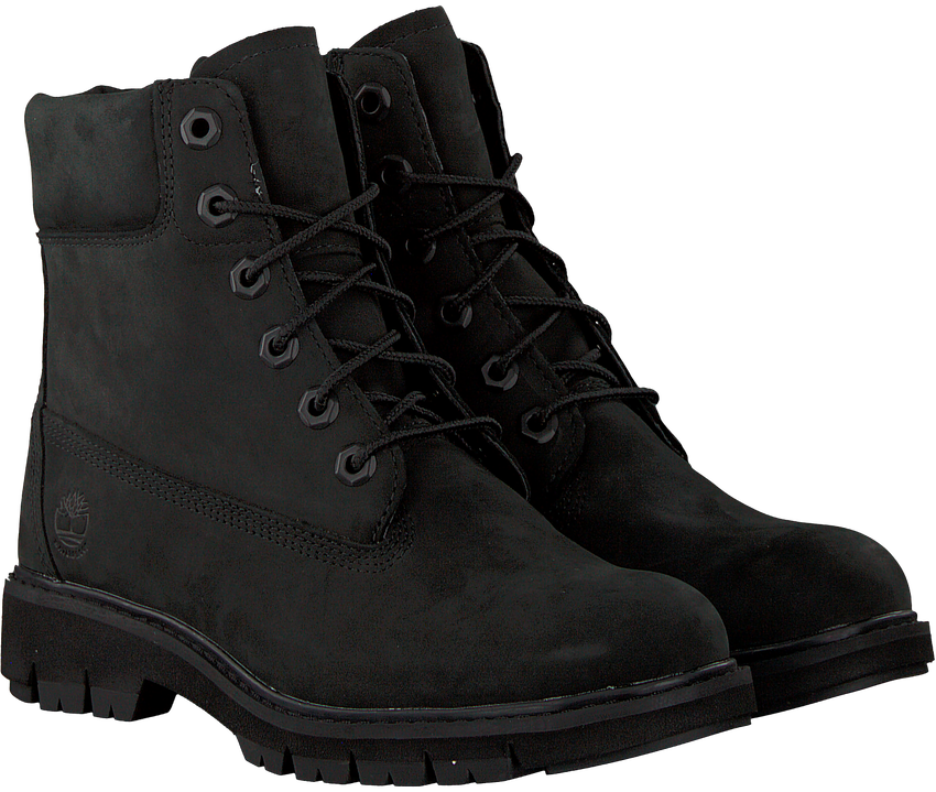 Schwarze TIMBERLAND Schnürboots LUCIA WAY 6IN WP BOOT - larger
