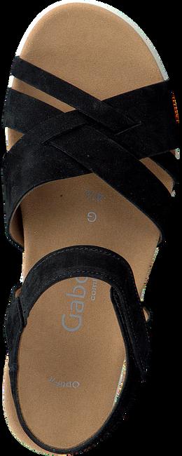 Schwarze GABOR Sandalen 772  - large