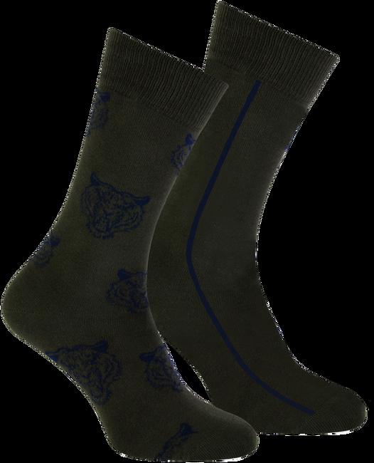 Grüne MARCMARCS Socken ERIC COTTON 2-PACK - large
