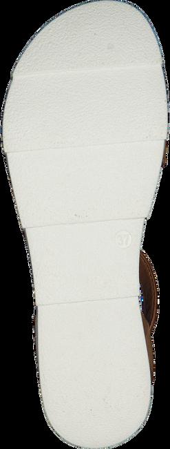 Cognacfarbene OMODA Sandalen 740019  - large
