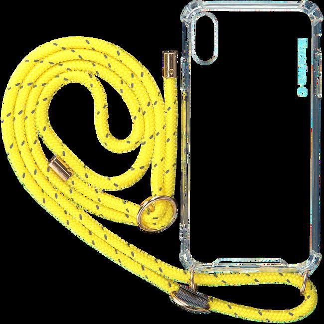 Gelbe KASCHA-C Handy-Schutzhülle PHONECORD IPHONE X MAX  - large