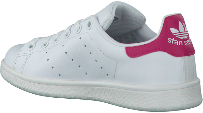 Weiße ADIDAS Sneaker STAN SMITH J - large