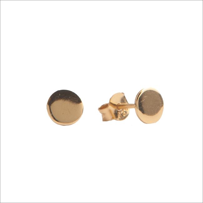 Goldfarbene ALLTHELUCKINTHEWORLD Ohrringe PARADE EARRINGS CIRCLE - large