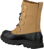 Camelfarbene SOREL Ankle Boots PORTZMAN CLASSIC WATERPROOF - small