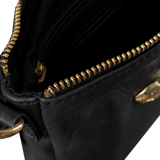 Goldfarbene DEPECHE Clutch SMALL BAG COW DD  - large