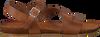 Cognacfarbene RED RAG Sandalen 79208  - small