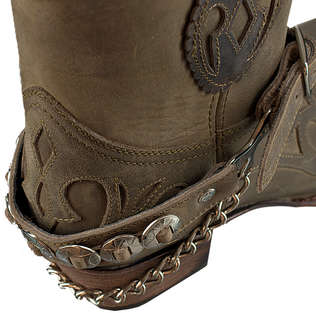 Taupe SENDRA Schuh-Candy ARNES - large