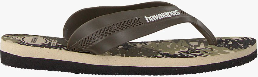 Schwarze HAVAIANAS Pantolette KIDS MAX TREND  - larger
