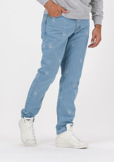 Blaue BLS HAFNIA Straight leg jeans NEW ALL OVER JEANS - large