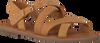 Cognacfarbene TOMS Sandalen WM SICILY SAND  - small