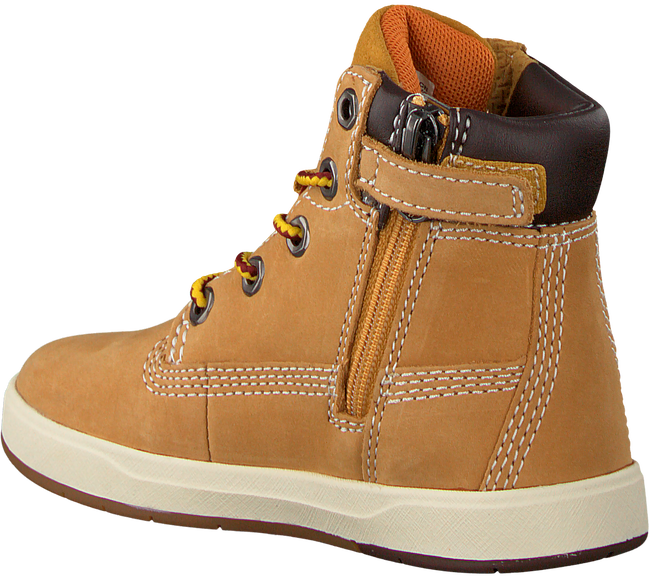 Camelfarbene TIMBERLAND Ankle Boots DAVIS SQUARE 6 KIDS - large