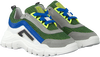 Gelbe RED-RAG Sneaker low 13437  - small