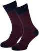 Rote MARCMARCS Socken RED NEW YORK - small