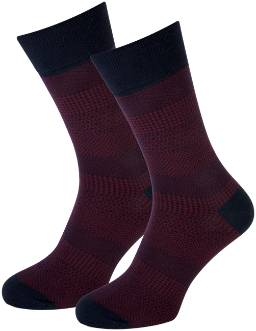 Rote MARCMARCS Socken RED NEW YORK - large