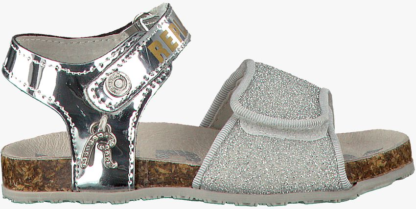 REPLAY Chaussure RIZZLE en argent  - larger