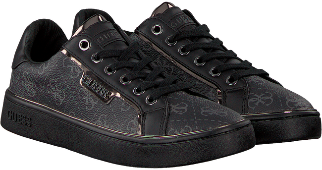 Schwarze GUESS Sneaker BANQ/ACTIVE  - large