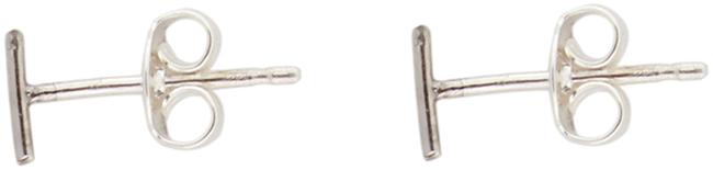 Silberne ALLTHELUCKINTHEWORLD Ohrringe PETITE EARRINGS STRIP - large