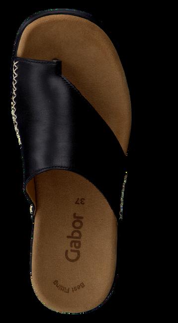 Schwarze GABOR Pantolette 700  - large