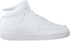 Weiße NIKE Sneaker low COURT VISION MID WMNS  - small