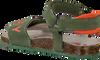 Grüne REPLAY Sandalen HARRICANE - small