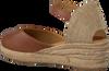 Braune UNISA Espadrilles CISCA  - small