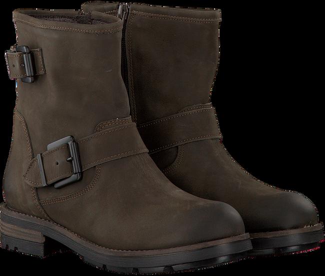 Braune OMODA Biker Boots 8600 - large