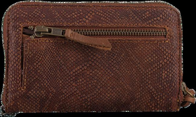Braune LEGEND Portemonnaie JERSEY SMALL PYTHON - large