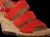 Rote GABOR Sandalen 825.1  - small