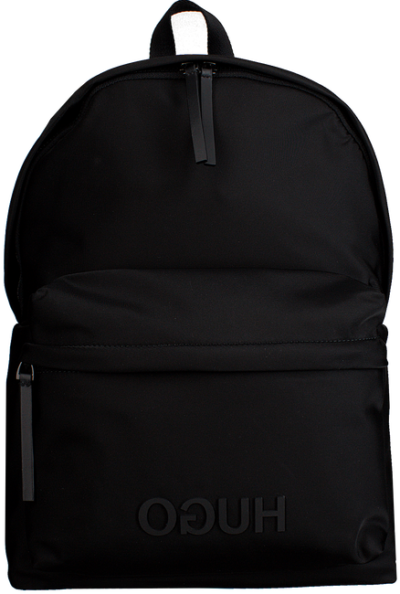 Schwarze HUGO BOSS Rucksack RECORD C BACKPACK - large