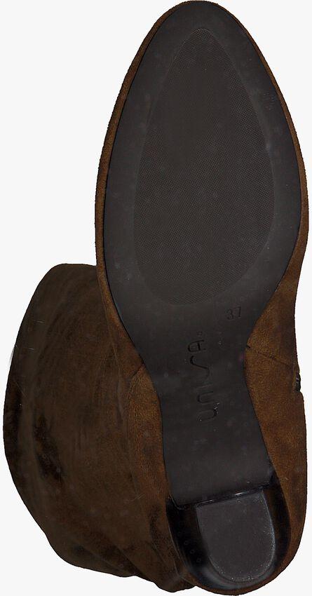 Cognacfarbene UNISA Hohe Stiefel URICA  - larger