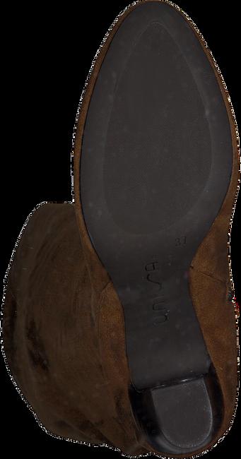 Cognacfarbene UNISA Hohe Stiefel URICA  - large