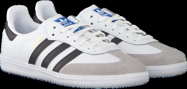 Weiße ADIDAS Sneaker SAMBA OG J - large