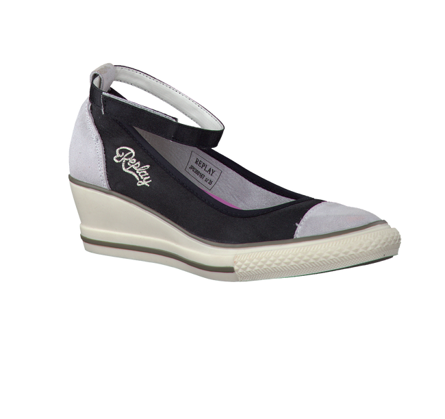 Schwarze REPLAY Ballerinas NARBERTH - large