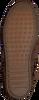 Cognacfarbene MINNETONKA Ankle Boots 2292 KIDS - small