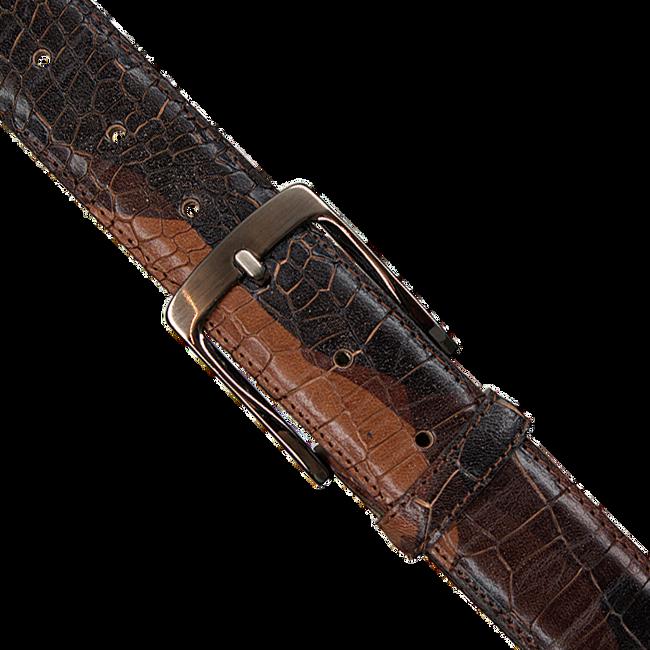 Cognacfarbene REHAB Gürtel BELT  CROCO ARMY W18 - large