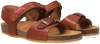Cognacfarbene RED-RAG Sandalen 19155  - small