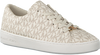 Weiße MICHAEL KORS Sneaker KEATON LACE UP - small