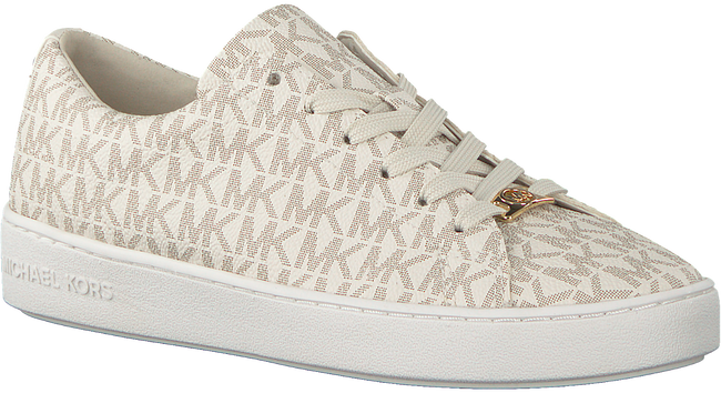 Weiße MICHAEL KORS Sneaker KEATON LACE UP - large
