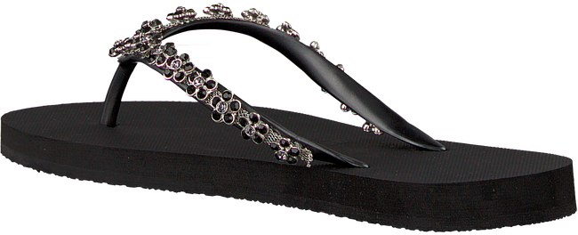 Black UZURII shoe FLOWER POWER  - large