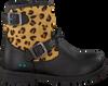 Schwarze BUNNIES JR Biker Boots TINA TROTS - small