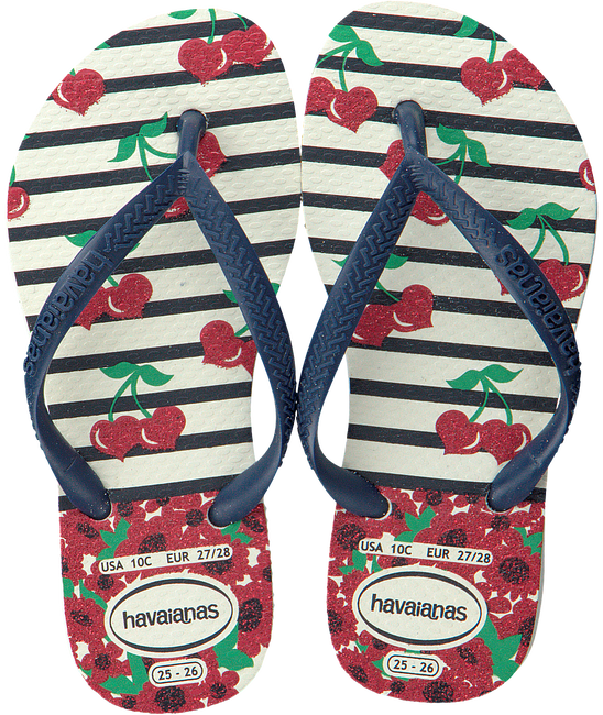 Blue HAVAIANAS shoe KIDS SLIM FASHION  - large