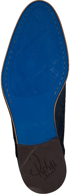 Blaue REHAB Schnürboots SALVADOR ZIG ZAG - large