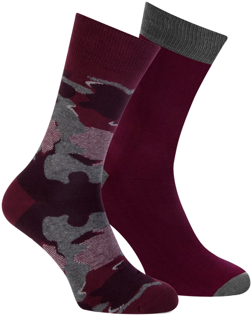 Rote MARCMARCS Socken MM DOMINIC COTTON 2-PACK - large